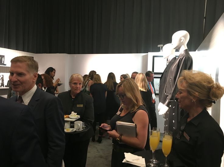 Press covering the Karl Lagerfeld Fine Bridal Jewelry launch at JCK Luxury Las Vegas.