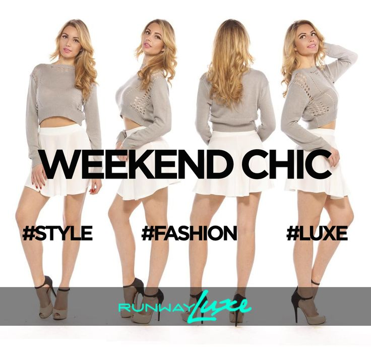 ~ WEEKEND LOVE ~ www.runwayluxe.com #fashion #style #luxe #weekendchic