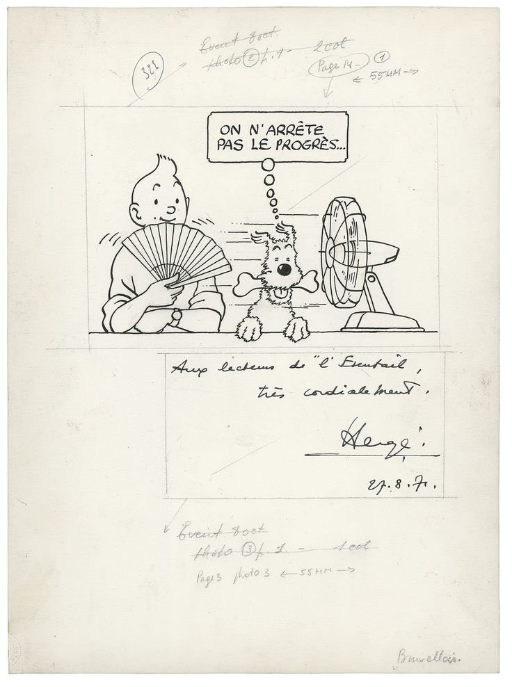 Catalogue de la vente L'Univers du Créateur de Tintin à Artcurial - Fin de la vente le 08 Avril 2017 | Auction.fr | Page 3