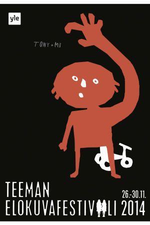 Teema Film Festival / Shining / Poster by Kirsi Kukkurainen / YLE