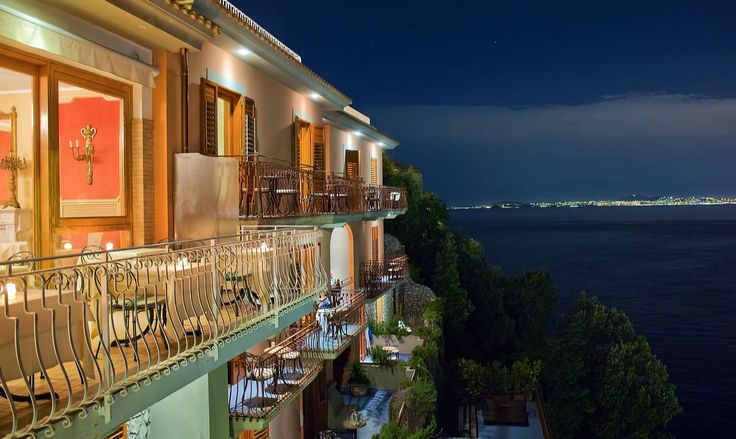 Sorrento, Italy - View from Hotel Belair
