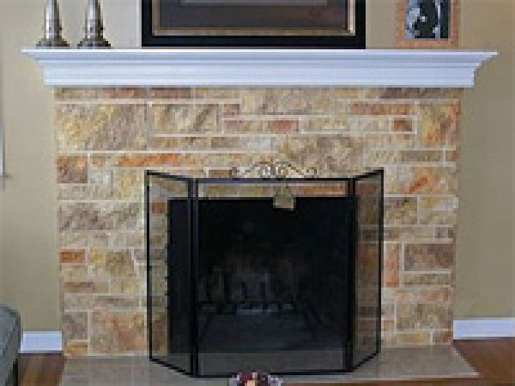 21 best images about fireplace on pinterest wood mantel shelf rustic fireplace mantels and - Brick fireplace surrounds ideas ...