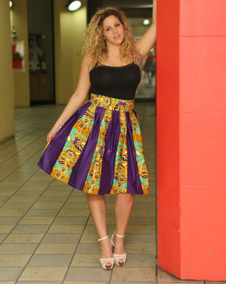 Limited quantity available!Midi skirt http://shop.modafricana.com/products/midi-skirt