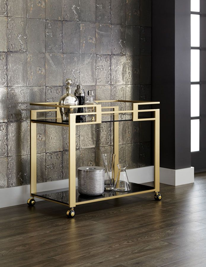 Inspiration: Bar On Wheels: Bar Cart Styling – INTERIOR MUCH WITH SABIA