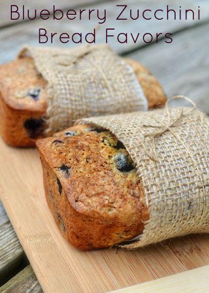 blueberry pão de abobrinha