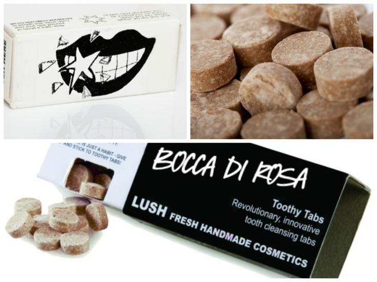 BOCCA DI ROSA - Il primo dentifricio solido 100% romantico! Per baci passionali come rose rosse...