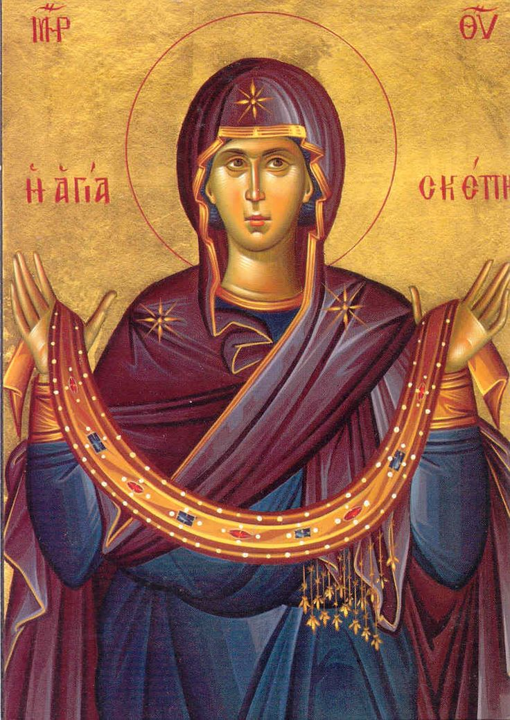 Holy Protection of the Mother of God, Theotokos icon