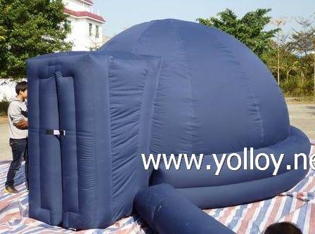 2 tube portable inflatable planetarium dome tent & 17 best Planetarium Domes | Yolloy images on Pinterest | Dome tent ...