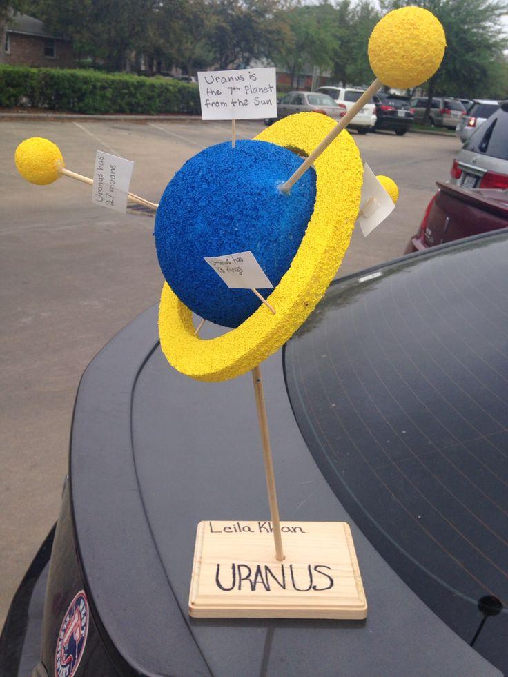School Project Planet Uranus   My Work DIY   Pinterest ...