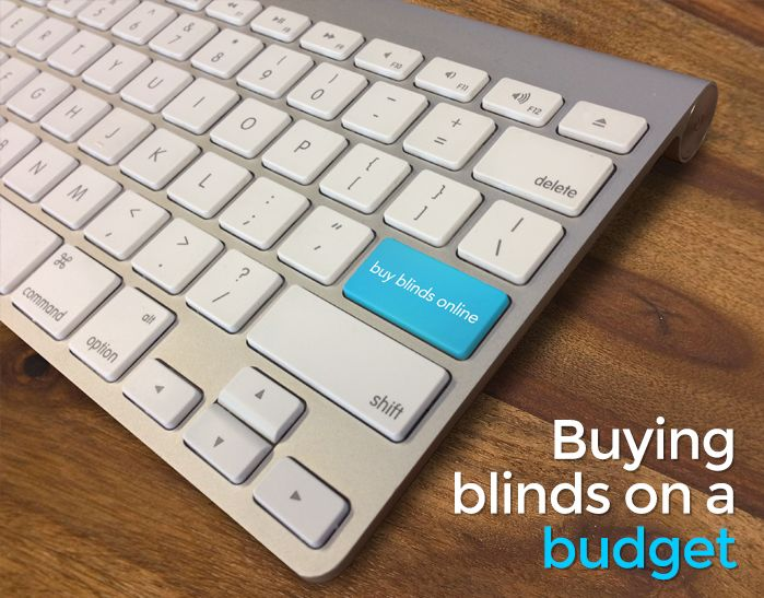 Buying Blinds on a Budget #blinds #budget #Diy #home