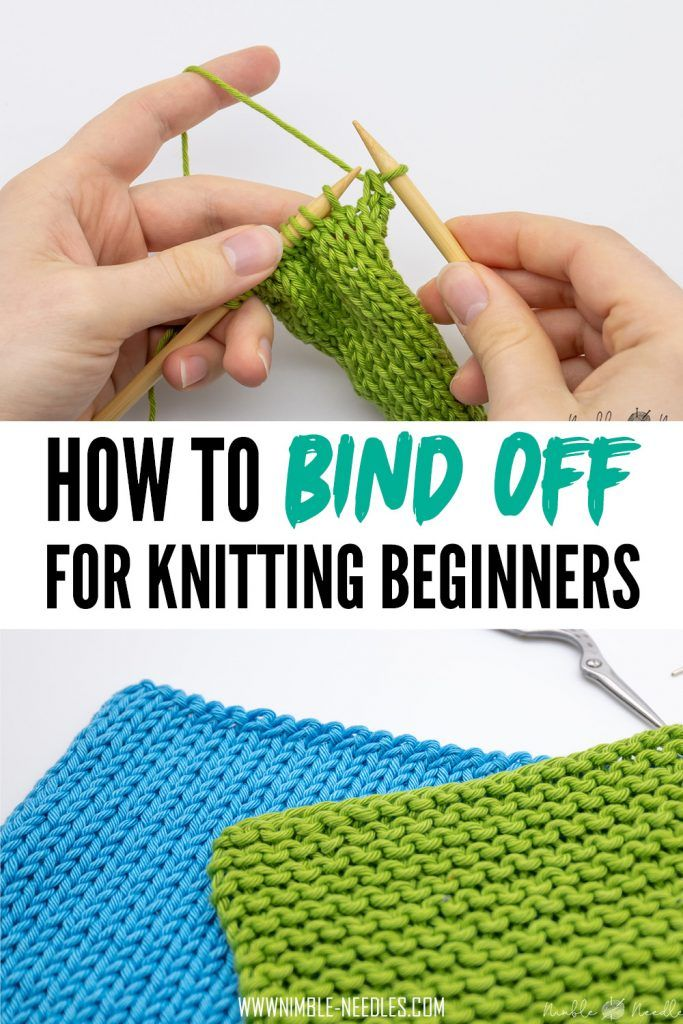 How To Bind Off For Beginners A Very Easy Cast Off Knitting Technique That Is Easy To Learn Even If You Just Knitting For Beginners Bind Off Knitting Knitting