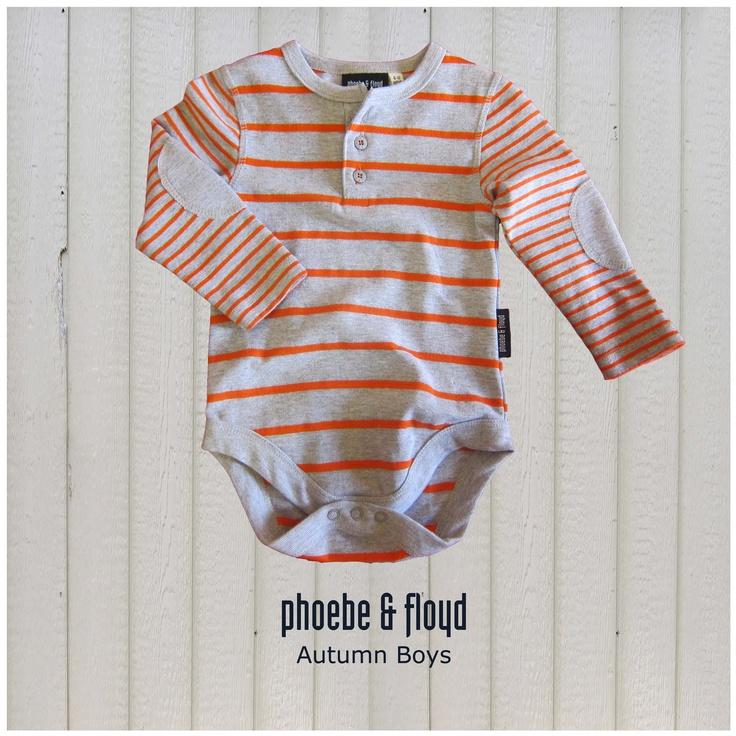 Orange & Grey Melange Yarn Dyed Rib Bodyvest