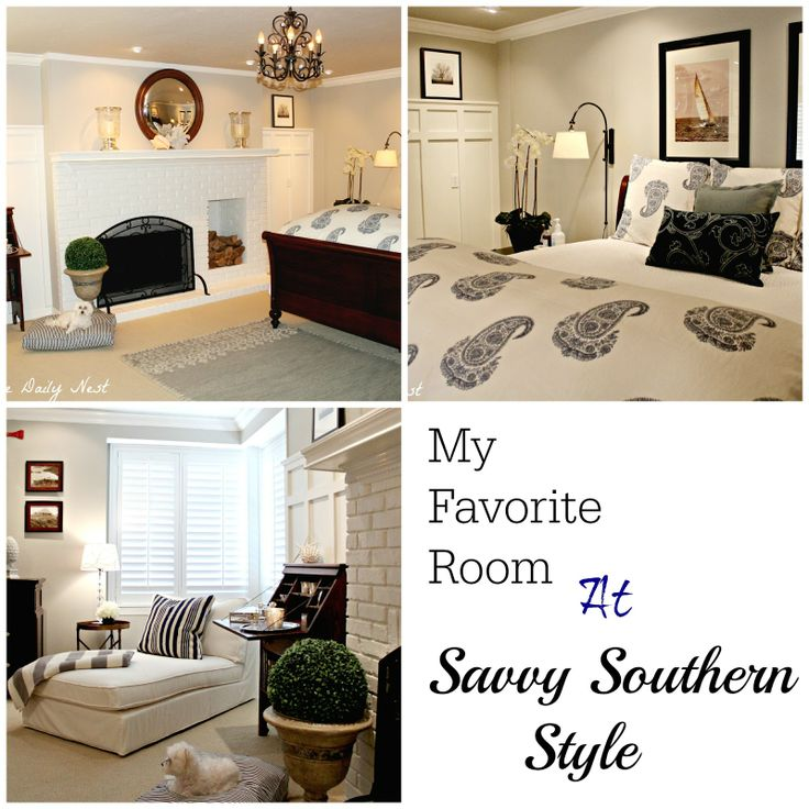 My Favorite Room Is Over At Savvy Southern Style