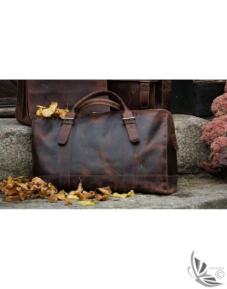 Baron - Bristol Leather Bag - Brown 9905 - Bags - MEN'S   Country Attire