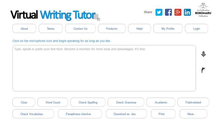Improve your English writing with VirtualWritingTutor.com - the best grammar checker, punctuation checker, and spell checker for second language learners.