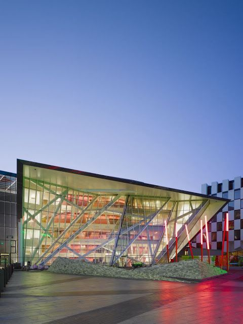 Grand Canal Square Theatre and Commercial Development : By Daniel Libeskind ~ HouseVariety