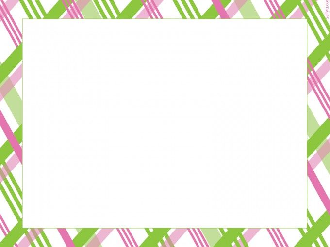 Pink #Green Plaid Striped #PowerPoint Backgrounds is a light pink #background style with green colors and a big #frame #design for PowerPoint. http://www.ppt-backgrounds.net/border-frames/5054-pink-green-plaid-striped-backgrounds