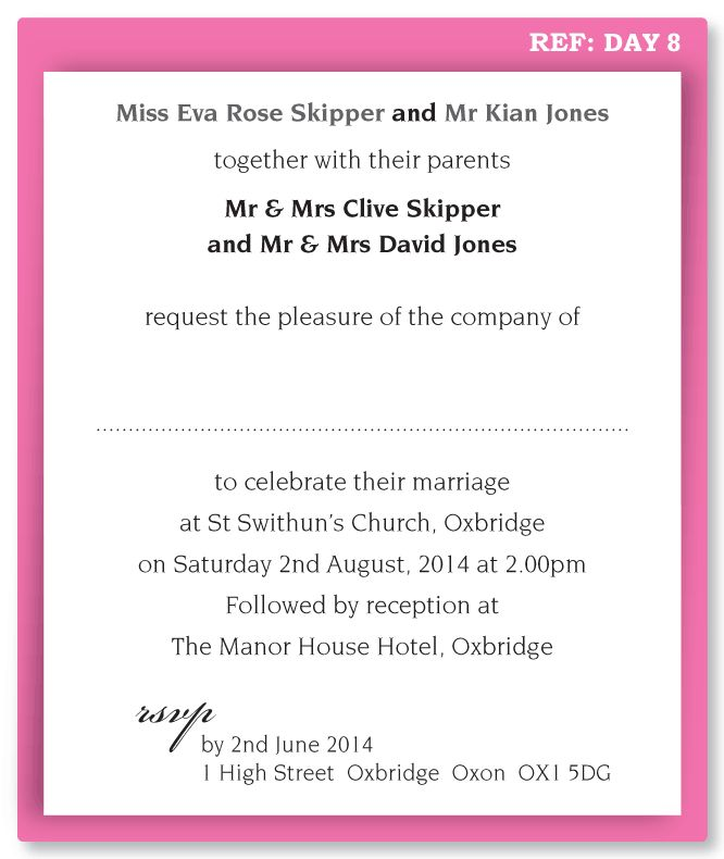 Wedding Invitation Letter Sample Wording Wedding Invitation Wording