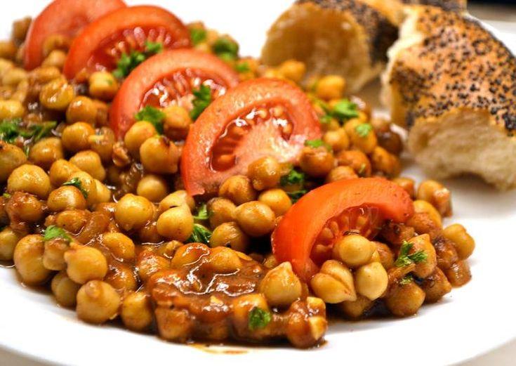 Fűszeres indiai csicseriborsó