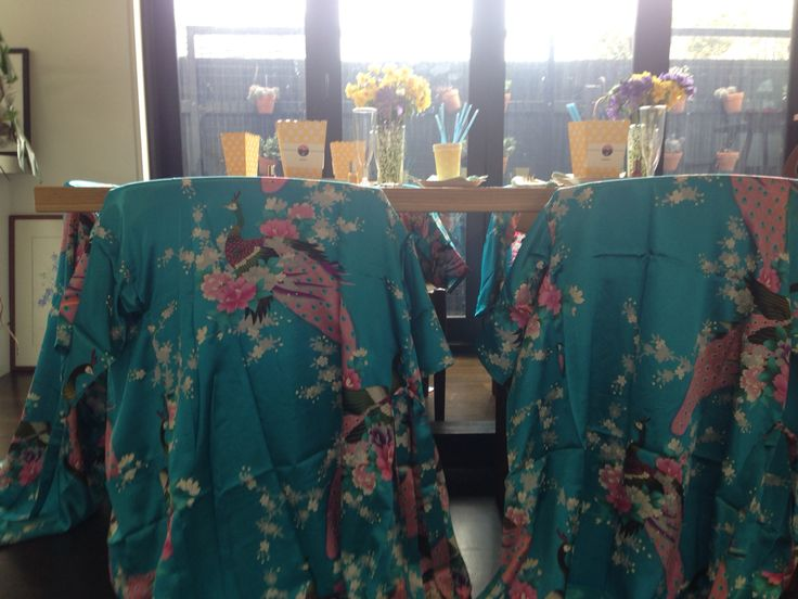 Pampering robes for the party