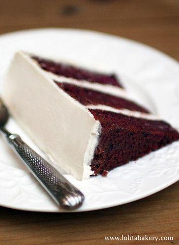 Red Velvet Cake - Lolita Bakery - Barcelona #redvelvet  #redvelvetcake #creamcheese  #lolitabakery