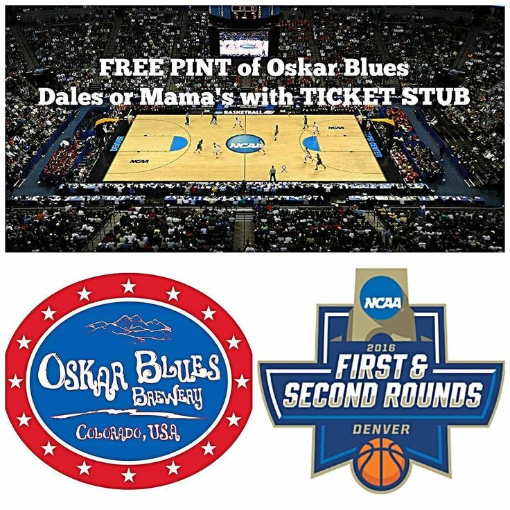 Going to the NCAA Tourney in Denver? Show your stub at HTB PRE or POST Game All Weekend and get a FREE PINT of Mama's Pils or Dale's Pale Ale courtesy of @oskarblues (with any purchase)  WATCH ALL THE GAMES ON 18 HDTVs with sound from round 1 through the final four  #highlandtapandburger #ncaabasketball #dalespaleale #mamaslilyellapils #oskarblues  #roadtothefinalfour #hoops #StPatricksDay #MarchMadness #tourneytime #hoopdreams #bracketbusters #craftbeer  #therecanbeonlyone #gourmet #burgers…