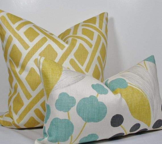 Lazy Boy Sofa Best Yellow pillows ideas on Pinterest Yellow cushion covers Chevron pillow and Yellow throw pillows