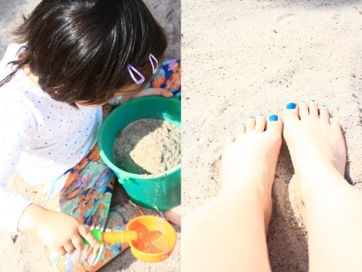 sand colored nails kids