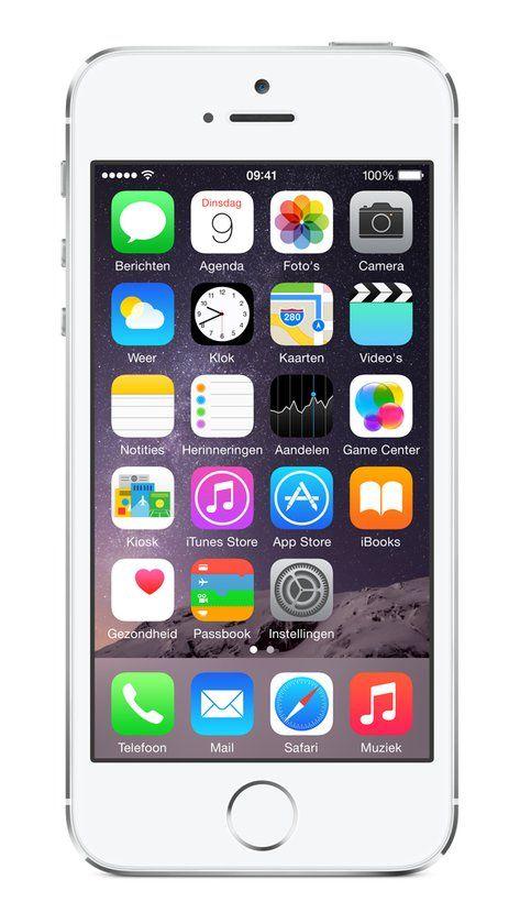Apple iPhone 5s - 32GB - Zilver
