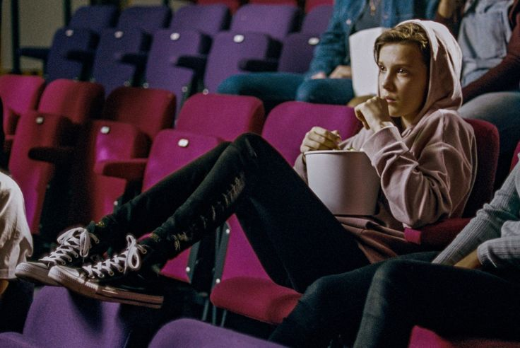 Millie Bobby Brown Converse Chuck Taylor Campaign