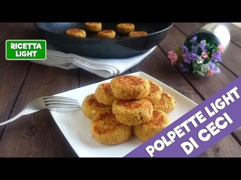 Polpette light di ceci (24 calorie l'una) | Giovi Light