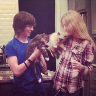 hana hayes and chandler riggs relationship with god