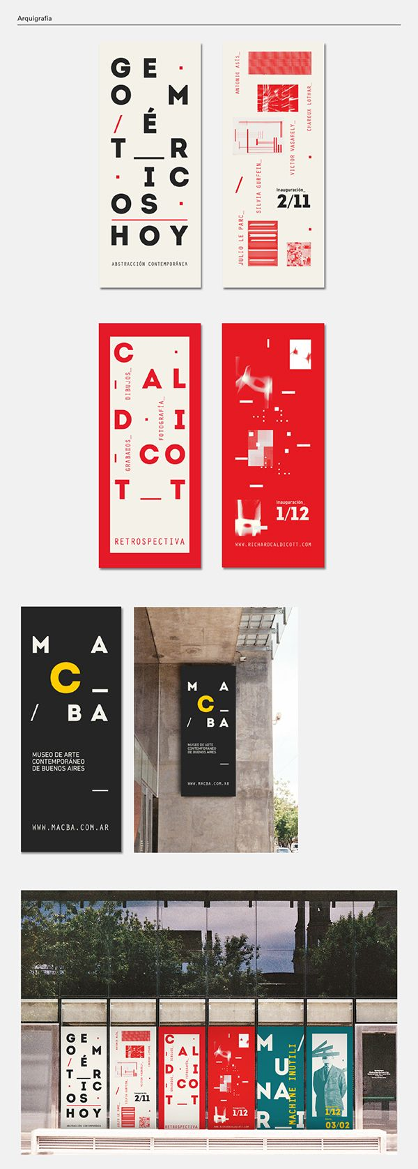 MACBA on Behance — Designspiration