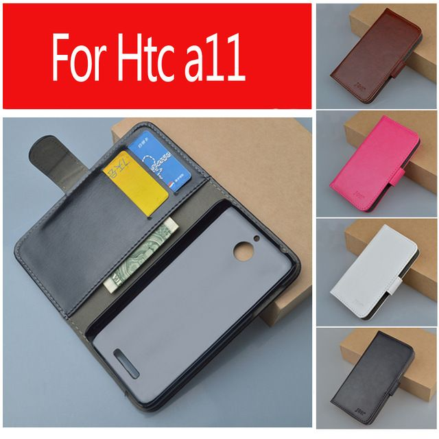 Leather case for HTC Desire 510 A11 flip cover case housing for HTC A 11 / HTCA11 DesireA11 HTC510 phone covers cases wholesale #Affiliate