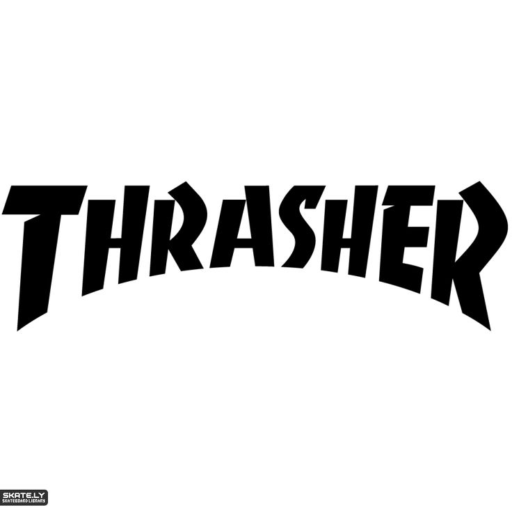 The Thrasher Logo In Its Traditional Typeface Thrasher