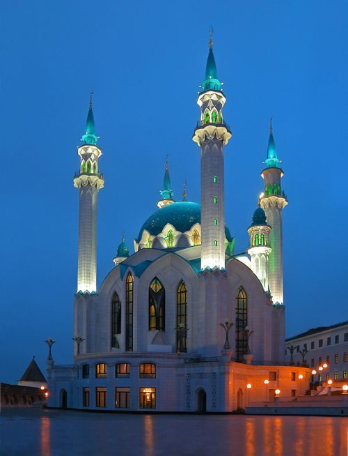 Thousand and one nights in Kazan, Tatarstan, Russia