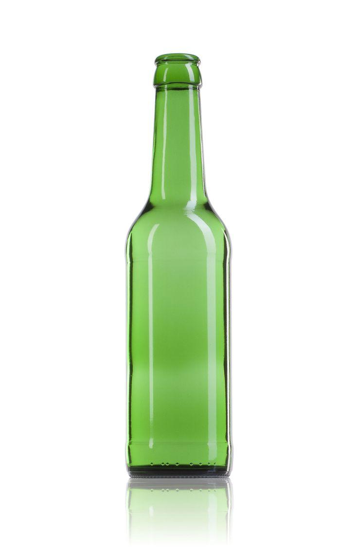 #Botella de #cristal para cerveza Ale de 330 ml. juvasa.com