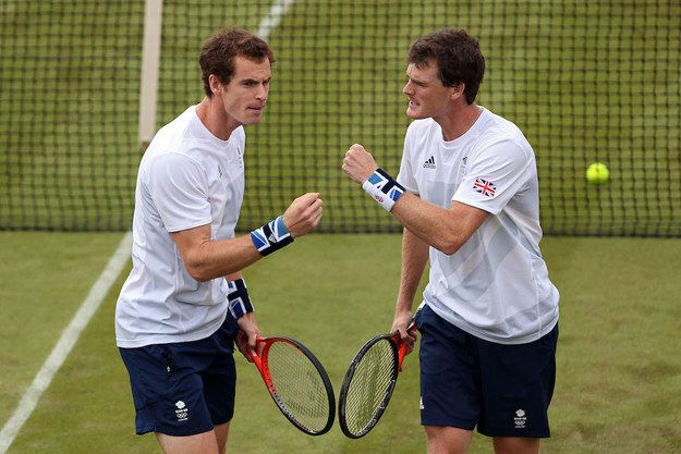 Now, now boys, play nice. | Andy And Jamie Murray Squabble On Twitter Over Who's Their Mum's Favourite Son