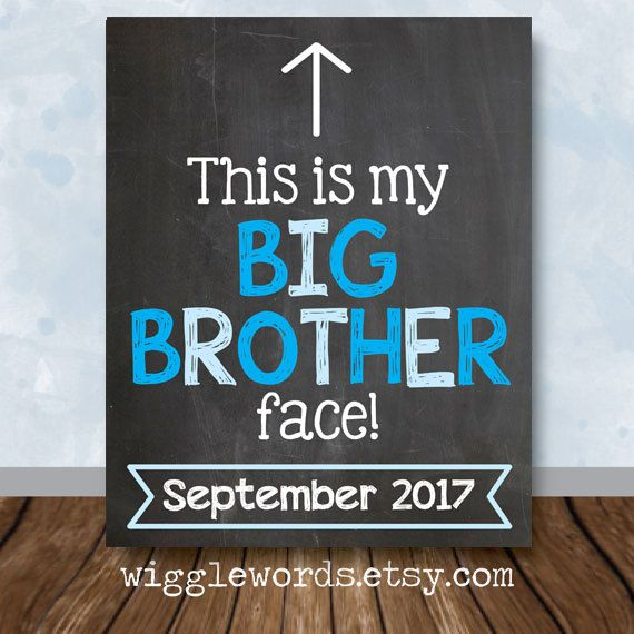 September 2017 Big Brother Pregnancy Announcement by WiggleWords