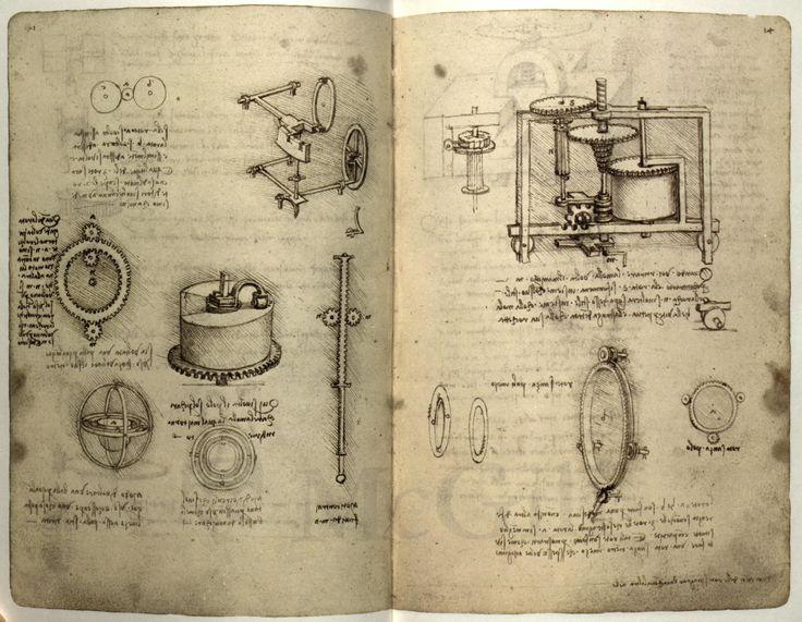 Leonardo da vinci inventions list and dates