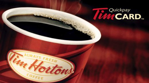 Tim Hortons Gift Card Giveaway