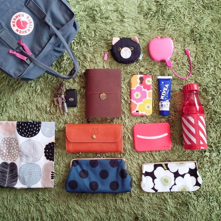 通勤用リュック | Ichigoのバッグの中身 - インマイバッグ