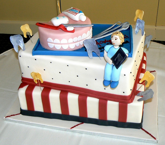 The Dentist cake from the Night Kitchen Bakery