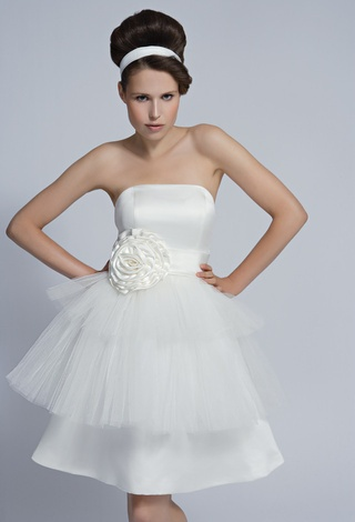 'Cara' - Modern Movement, S|S 2011 Collection.  By #Tobi #Hannah #Bridal #London