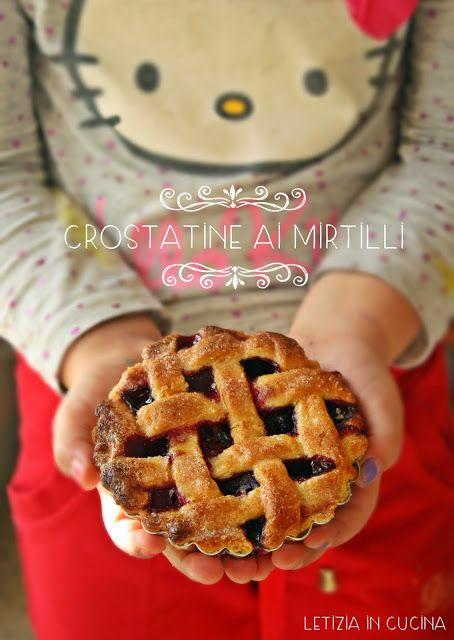 Letizia in Cucina: Crostatine ai mirtilli - Cakes Lab