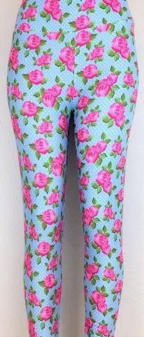 Shabby Chic Roses Capri