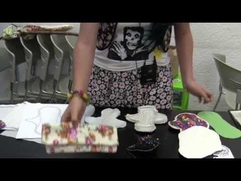 Crea tu propia toalla femenina reutilizable - YouTube