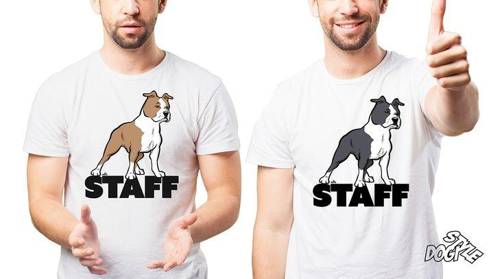 Amstaffi huppari tai t-paita. Hauska lahjaidea. #amstaffi #staff