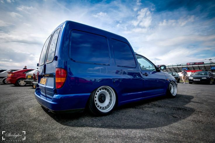 Vw caddy, banded steels.