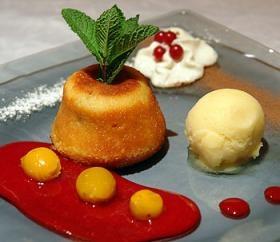 Moelleux aux Mirabelles | Guide Des Restaurants Gastronomiques Et Hôtels / Tables & Auberges